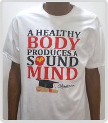 Healthy Body Sound Mind T-Shirt